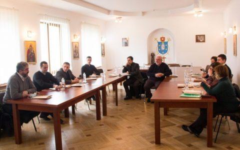 Зустріч представників Стрийської єпархії з Головою Комісії УГКЦ у справах родини і мирян